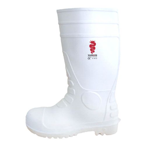 Warrior White Safety Wellington Boots